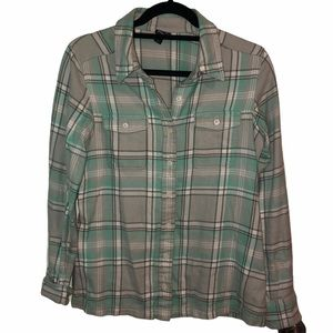 Size 4 Patagonia Fjord Flannel Shirt